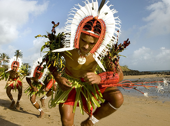 Torres Strait Islands Ceremonial Headdress | Coral Expeditions' 35th Anniversary Expedition